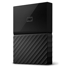 Western Digital WD My Passport 1TB 2.5in External HDD Black