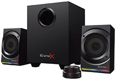 Creative BlasterX Kratos S5 RGB 2.1 Speakers