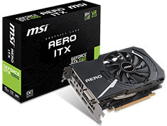 MSI GeForce GTX 1060 Aero ITX OC 6GB