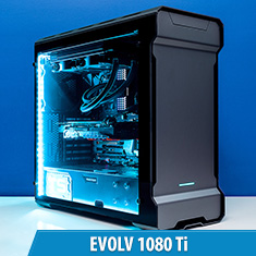 PCCG Evolv 1080 Ti Gaming System Anthracite