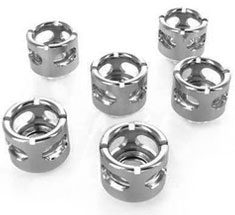 Monsoon HL 13/10mm Compression Fitting Chrome 6 Pack - Ex-Demo
