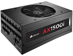 Corsair AX1500i Titanium Power Supply - Open Box