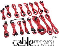 CableMod C-Series AXi, HXi & RM Cable Kit Red - Open Box