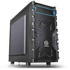 Thermaltake Versa H13 Mid Tower Chassis with 450W PSU - Open Box