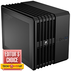 Corsair Carbide Air 240 Black Mini Cube Case - Ex-Demo
