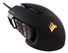 Corsair Scimitar Pro RGB Optical Gaming Mouse Black - Open Box