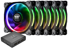 Thermaltake Riing Plus 12 RGB Premium Edition Fan 5pk