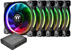 Thermaltake Riing Plus 14 RGB Premium Edition Fan 5pk