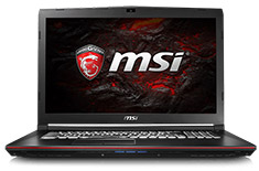 MSI GP72 Leopard 17.3in Core i7 Gaming Notebook [7RD-405AU]