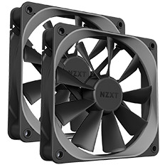 NZXT Aer F 140mm High Performance Airflow PWM Fan Twin Pack
