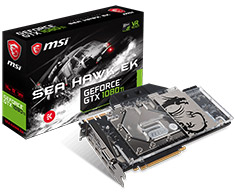 MSI GeForce GTX 1080 Ti Seahawk EK X 11GB