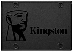 Kingston A400 2.5in SATA SSD 480GB
