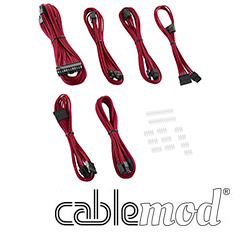 CableMod C-Series AXi, HXi & RM Essentials Cable Kit Red