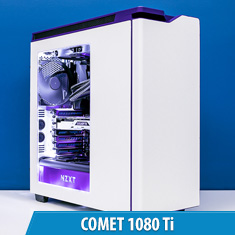 PCCG Comet 1080 Ti Gaming System