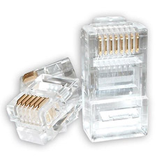 RJ45 Connectors Pack of 20