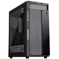 SilverStone Precision Series PS14 ATX Tower Case with Window