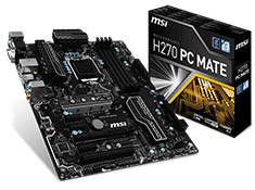 MSI H270 PC-MATE Motherboard