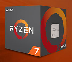 AMD Ryzen 7 1700 Processor with Wraith Spire RGB Fan