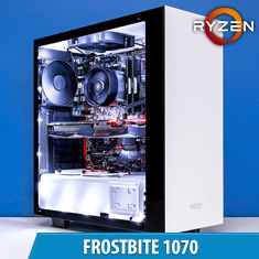 PCCG Frostbite 1070 Gaming System