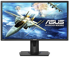 ASUS VG245H FHD FreeSync 24in TN Gaming Monitor