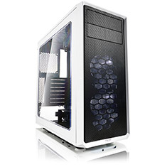 Fractal Design Focus G ATX Case with Window White