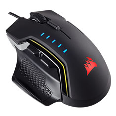 Corsair Glaive RGB Gaming Mouse - Aluminum