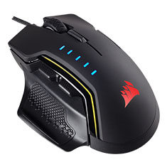 Corsair Glaive RGB Gaming Mouse - Black