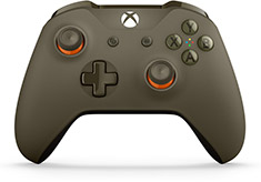 Microsoft Xbox One Wireless Controller for Windows Green/Orange