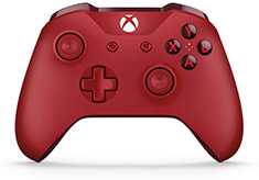 Microsoft Xbox One Wireless Controller for Windows Red