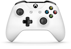 Microsoft Xbox One Wireless Controller for Windows White