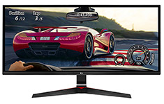 LG 29UM69G-B 29in Ultrawide FreeSync IPS 75Hz LED Gaming Monitor
