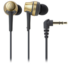 Audio Technica ATH-CKR50iS In-Ear with Mic Gold