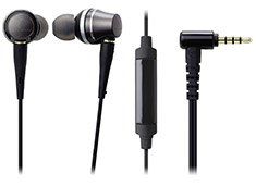 Audio Technica ATH-CKR90iS In-Ear High-Res with Mic