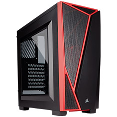 Corsair Carbide Series SPEC-04 Gaming Case Black Red