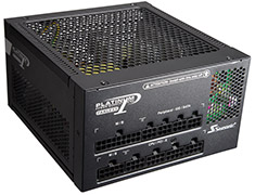 Seasonic Platinum Fanless 520W 80 Plus Platinum Power Supply