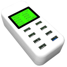 Simplecom Smart 8-Port USB Wall Charger with QC3.0 Port