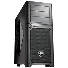 Cougar MX500 Black Mid Tower Case with Window