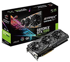 ASUS ROG Strix GeForce GTX 1080 OC 8GB 11Gbps