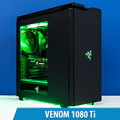 PCCG Venom 1080 Ti Gaming System