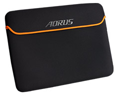 Gigabyte Aorus Neoprene Sleeve for 15.6in Notebooks