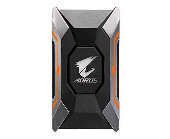 Gigabyte Aorus RGB SLI HB bridge (2 Slot Spacing)