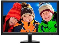 Philips 273V5LHAB 27in Widescreen LED Monitor