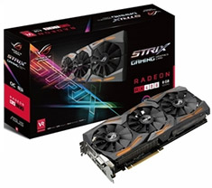 ASUS ROG Radeon RX 580 Strix Gaming TOP Edition 8GB
