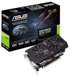 ASUS GeForce GTX 1060 DirectCU II OC 9Gbps 6GB