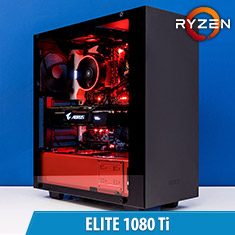 PCCG Ryzen Elite 1080 Ti Gaming System
