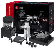 EK Fluid Gaming A120 Liquid Cooling Kit