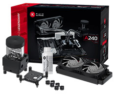 EK Fluid Gaming A240 Liquid Cooling Kit