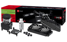 EK Fluid Gaming A240G Liquid Cooling Kit