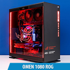 PCCG Omen 1080 ROG Gaming System