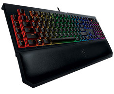 Razer BlackWidow Chroma V2 Mechanical Keyboard Yellow Switch